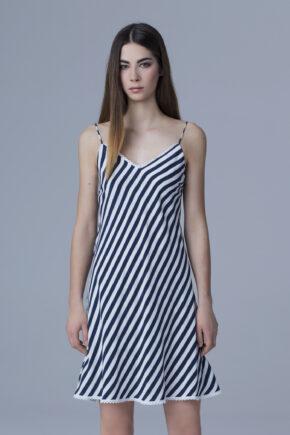 slip dress przycieta